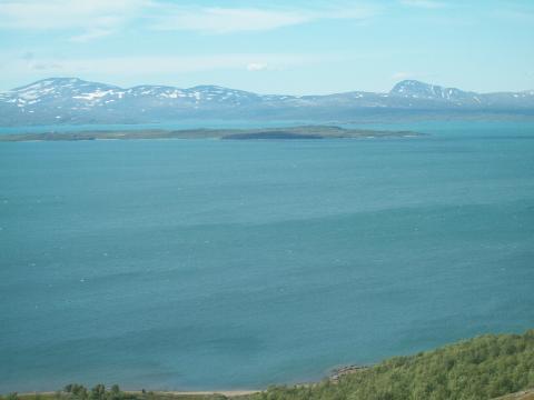 utsikt mot Norge